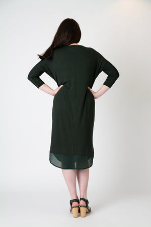 Load image into Gallery viewer, Lucy dress forest green