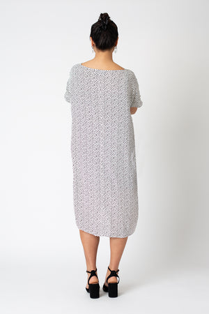 Keyhole Colette dress - dalmation