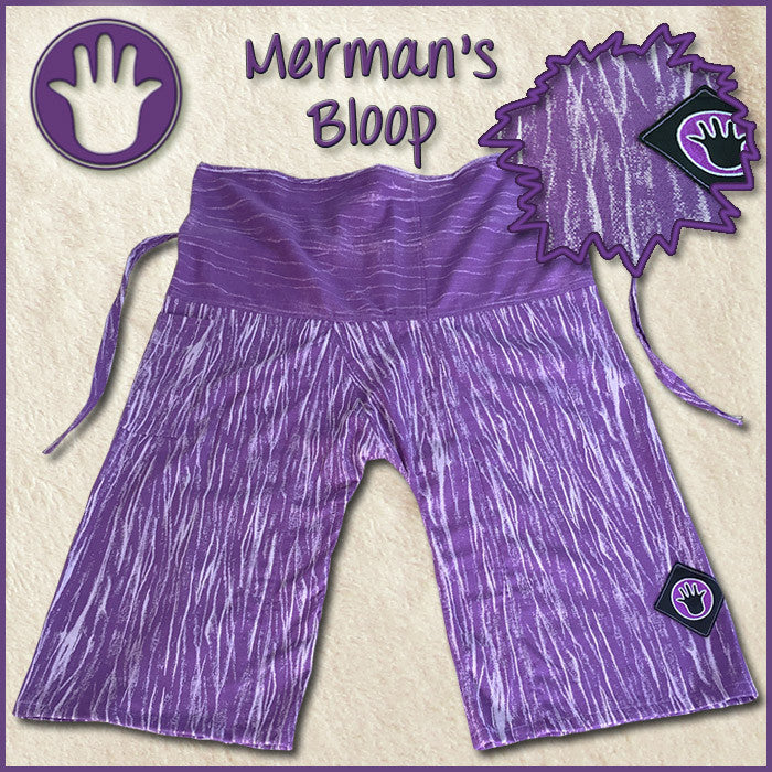 Merman's Bloop purple