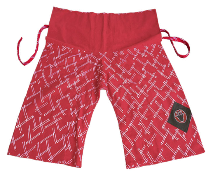 Jungle Pants - Loose Change red