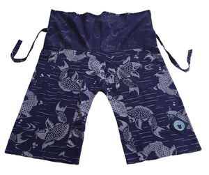Jungle Pants - Weird Fishes blue
