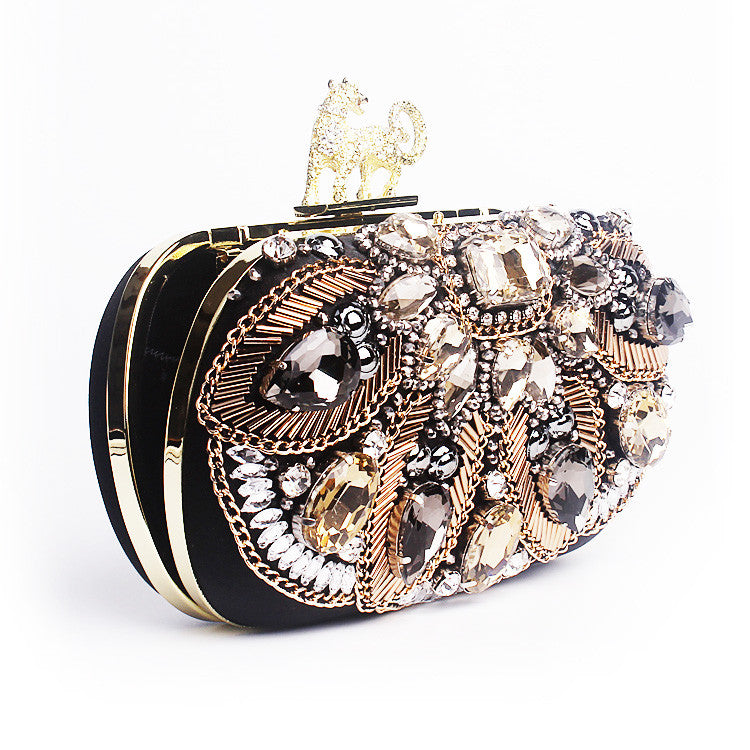 43904b41cf56 FOREVER 21 Leopard Print Clutch - DAILYNECKLACE.COM