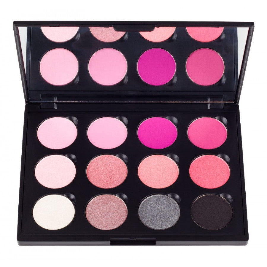 COASTAL SCENTS 12 Think Pink Eyeshadow Palette