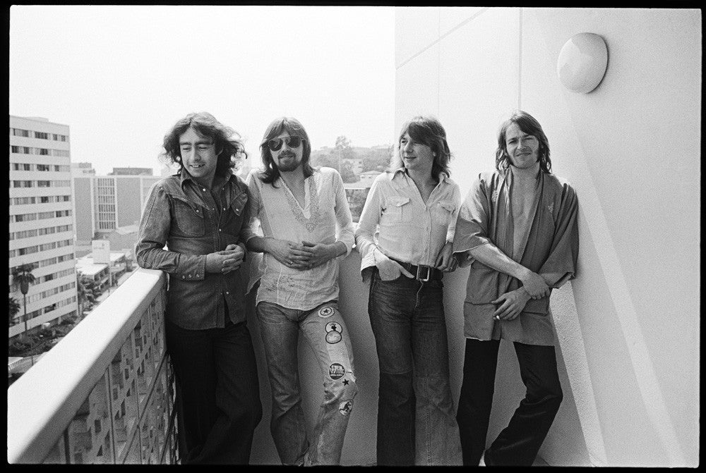 Bad Company, Hollywood CA 1974 by Mark Sullivan