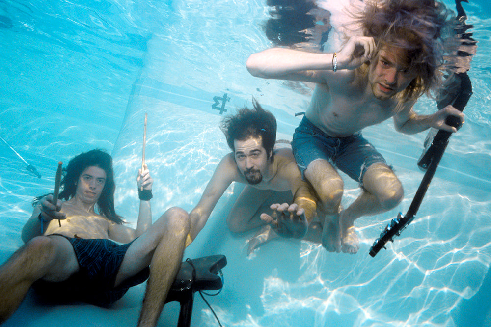 Nirvana Nevermind, Underwater Photo II, 1991 by Kirk Weddle