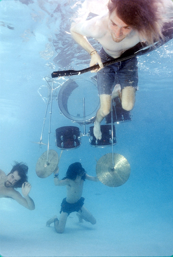 Nirvana Nevermind, Underwater Photo III, 1991 by Kirk Weddle