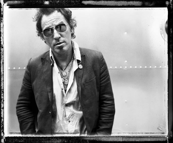 Bruce Springsteen, Aviators 2007 by Danny Clinch