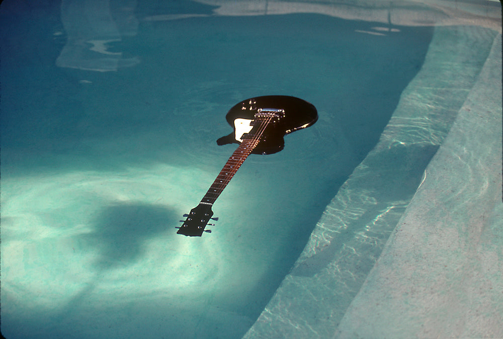 Nirvana, Floating Guitar, 1991 by Kirk Weddle