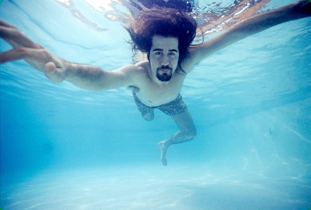 Krist Novoselic, Nirvana Nevermind, 1991 by Kirk Weddle