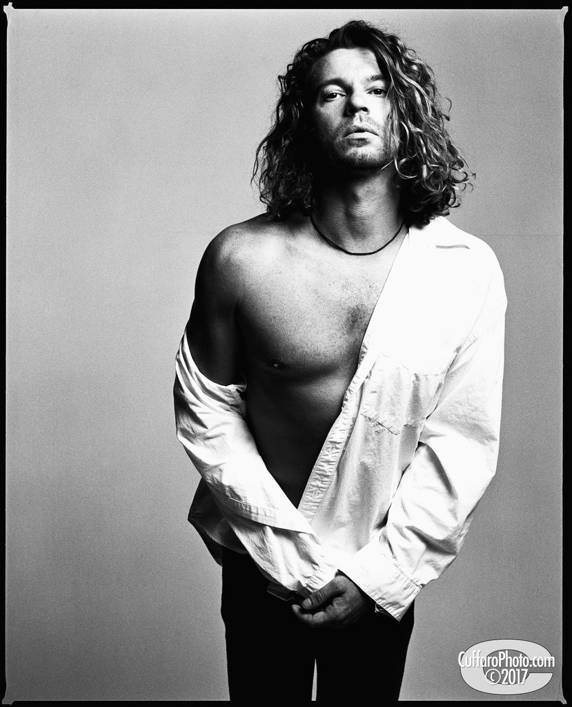 Michael Hutchence, LA 1993 by Chris Cuffaro
