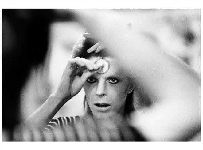 David Bowie, Make-up, 1973