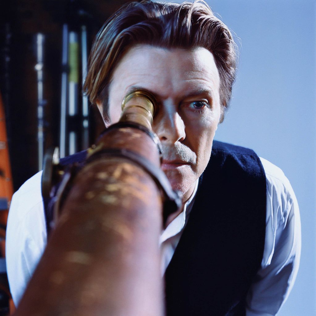 David Bowie, Seeing You From Afar, 2001 by Markus Klinko