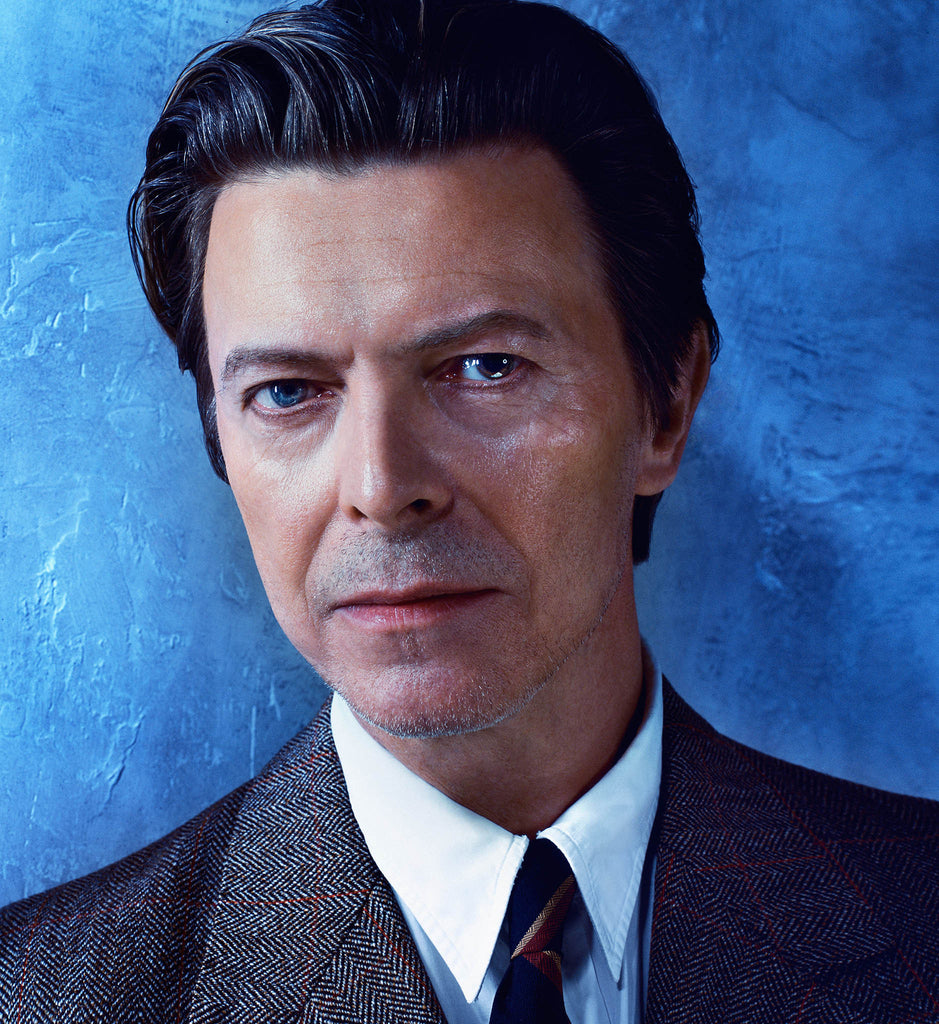 David Bowie, David, 2001 by Markus Klinko