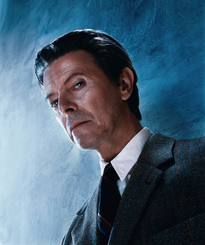 David Bowie, The Look, 2001 by Markus Klinko