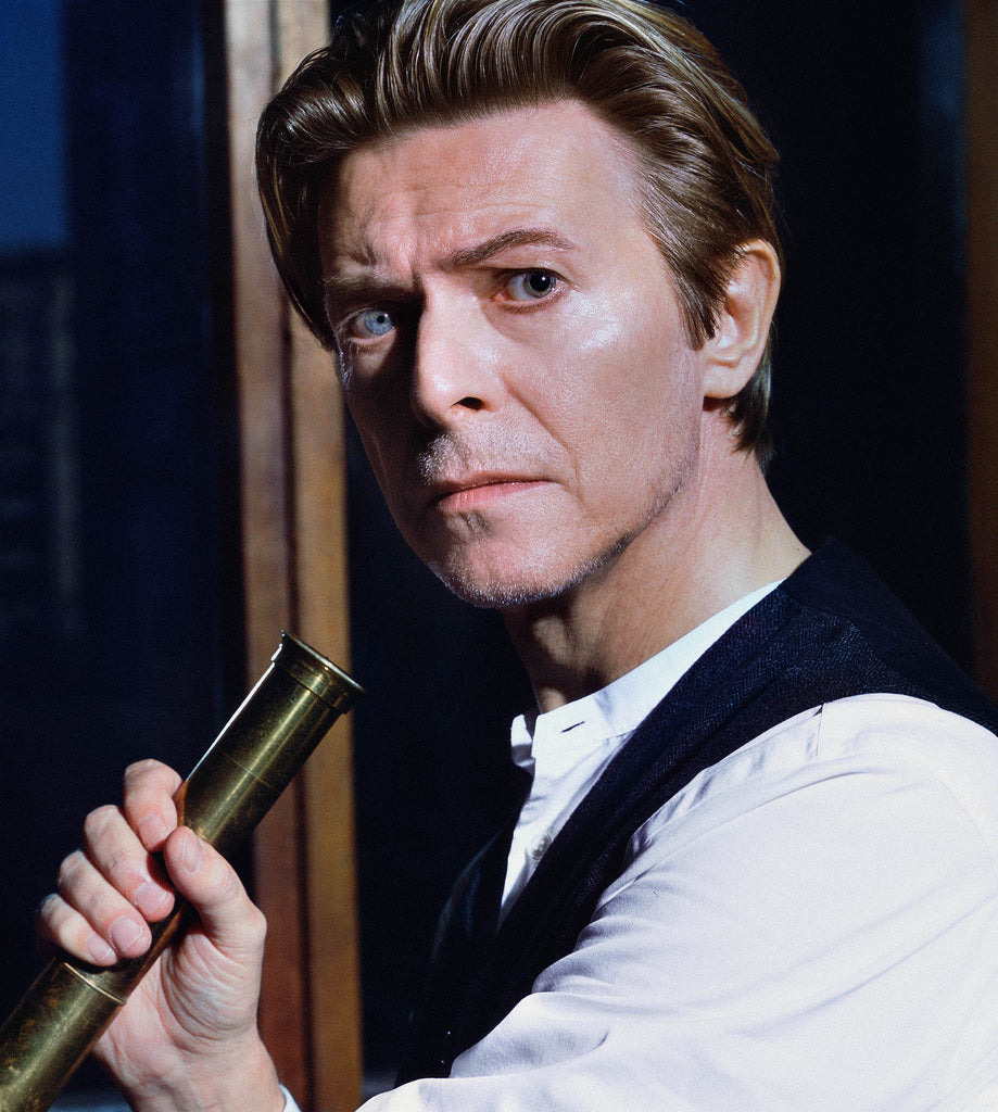 David Bowie, Telescope, 2001 by Markus Klinko