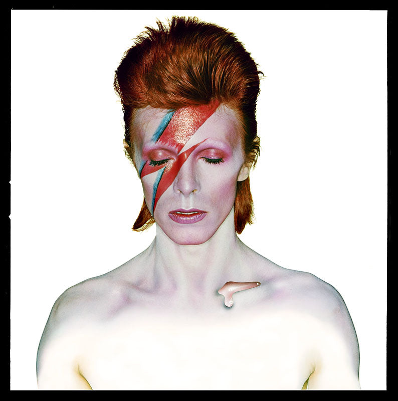 "David Bowie ""Aladdin Sane"", Classic 1973 by Duffy"