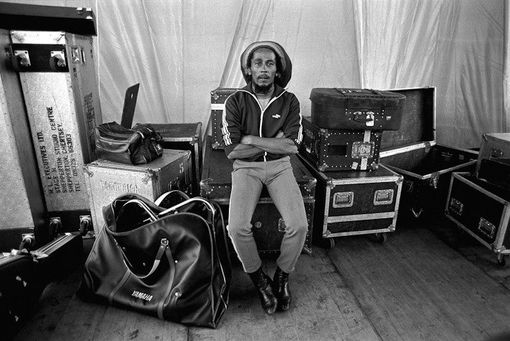Bob Marley, Backstage 1980 by Lynn Goldsmith