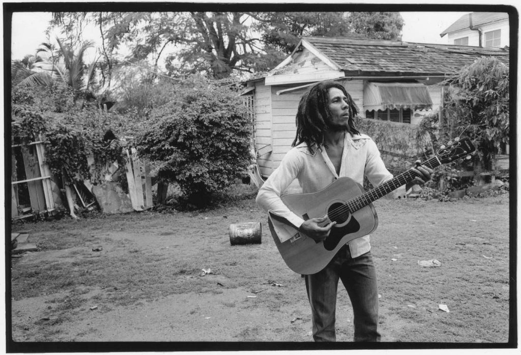 Bob Marley, Hope Road, 1976 by David Burnett