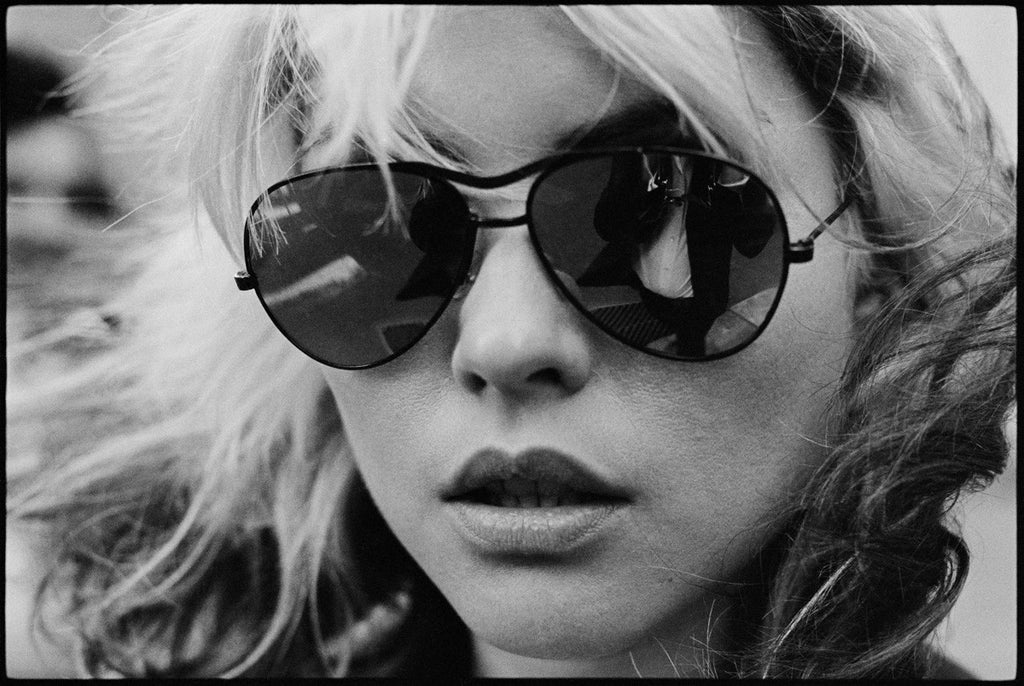 Debbie Harry, Shades, by Chris Stein