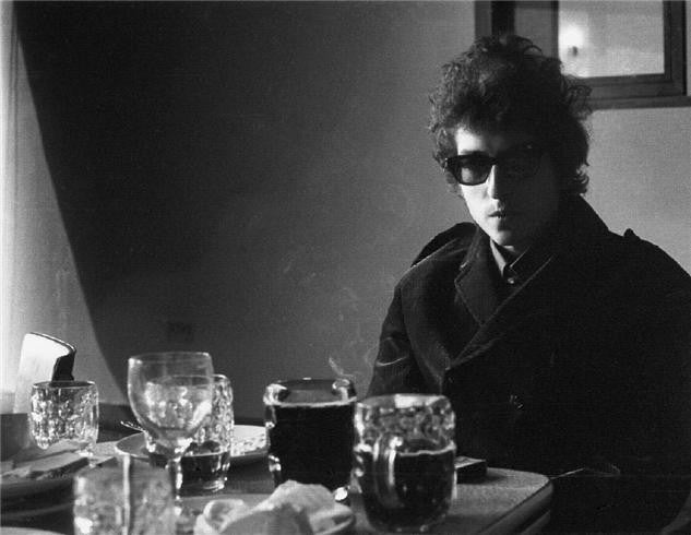 Bob Dylan, BBC Studios 1969 by Barrie Wentzell