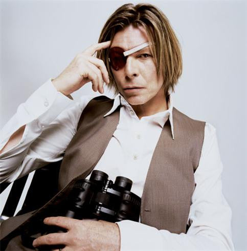 David Bowie, 2002 by Mick Rock