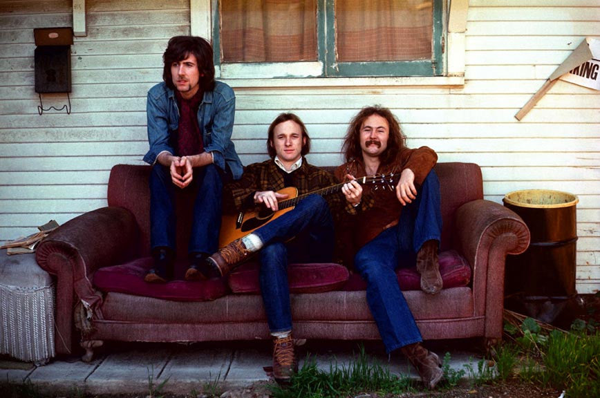 Crosby, Stills & Nash Album Cover 1969 by Henry Diltz