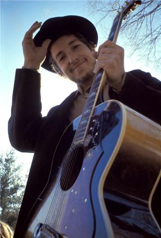Bob Dylan, Nashville Skyline Album Cover by Elliott Landy
