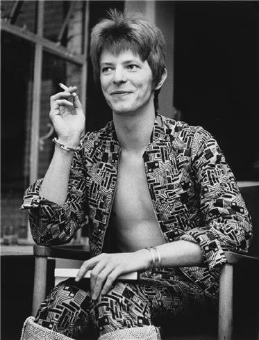 David Bowie, 1972 by Barrie Wentzell