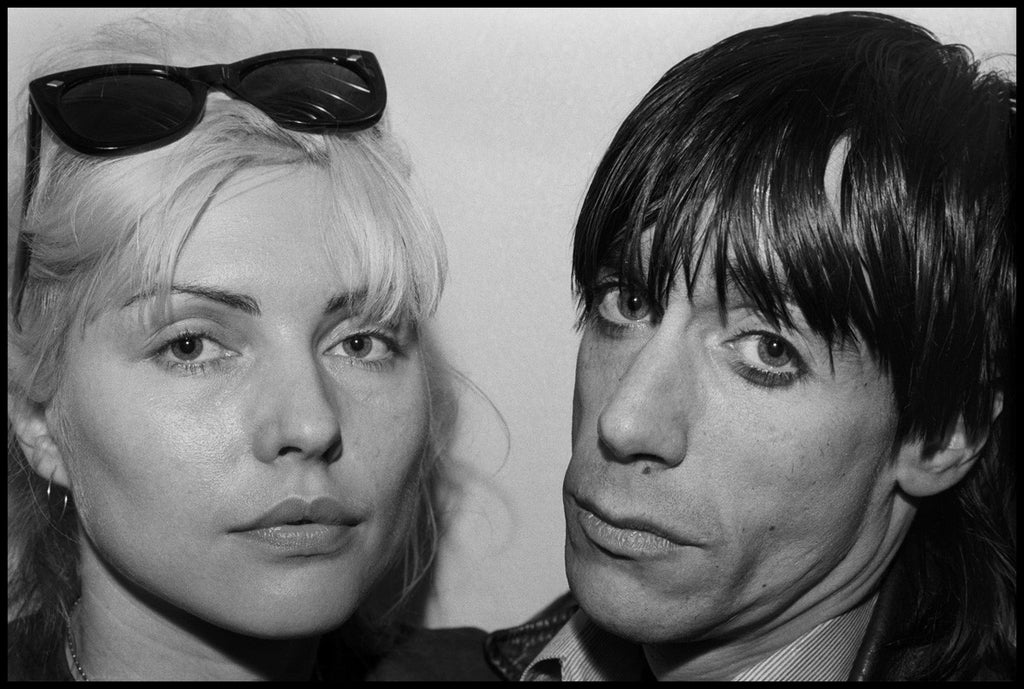 Debbie Harry & Iggy Pop by Chris Stein