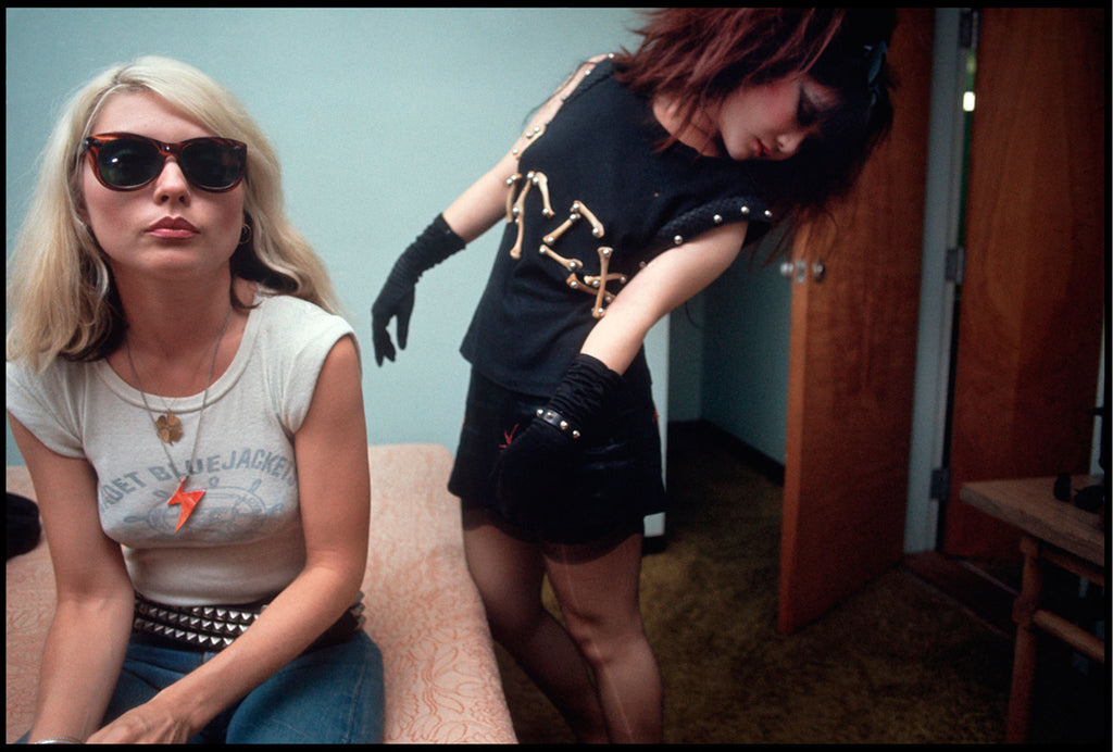 Debbie Harry & Anya Phillips by Chris Stein