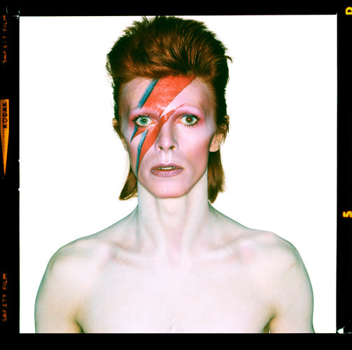 "David Bowie ""Aladdin Sane"", Eyes Open 1973 by Duffy"