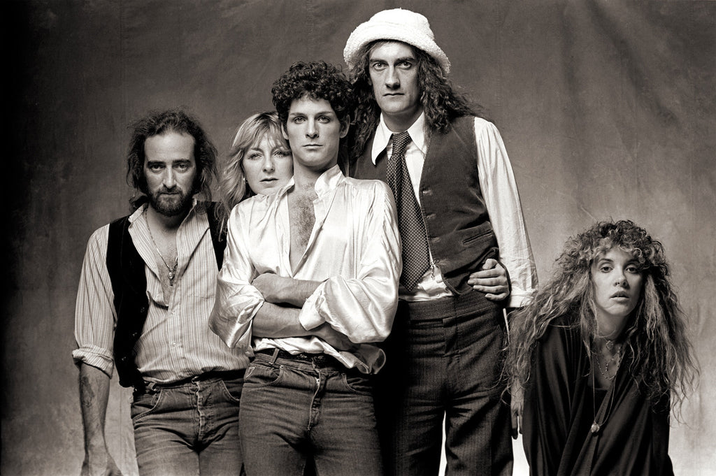 "Fleetwood Mac, Los Angeles 1978, ""Tusk I"" by Norman Seeff"