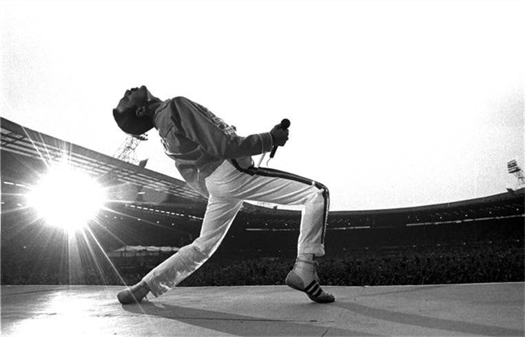 Freddie Mercury, Wembley Stadium, England 1986 by Neal Preston