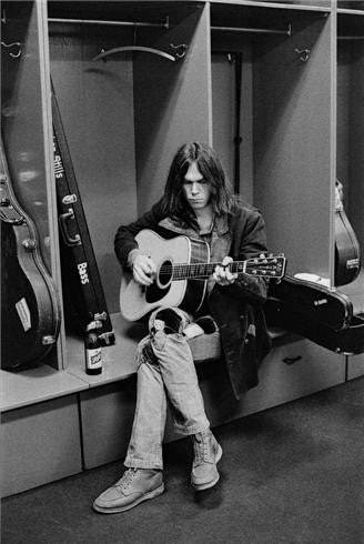 Neil Young, Philadelphia, PA 1970 by Joel Bernstein