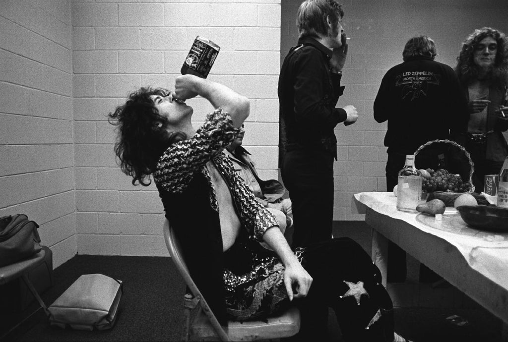 Jimmy Page, Robert Plant, Indianapolis, IN 1975 by Neal Preston