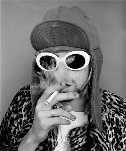 Kurt Cobain, Smoking B 1993 by Jesse Frohman
