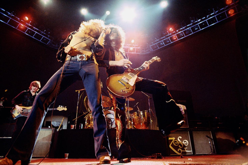 Led Zeppelin, Los Angeles, CA 1975 by Neal Preston