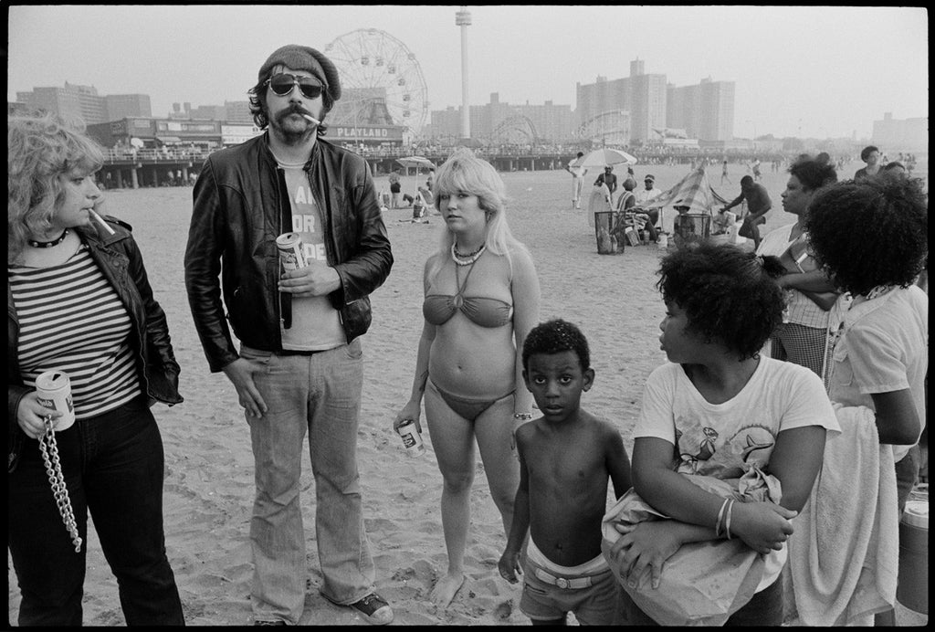 Lester Bangs, Coney Island by Chris Stein