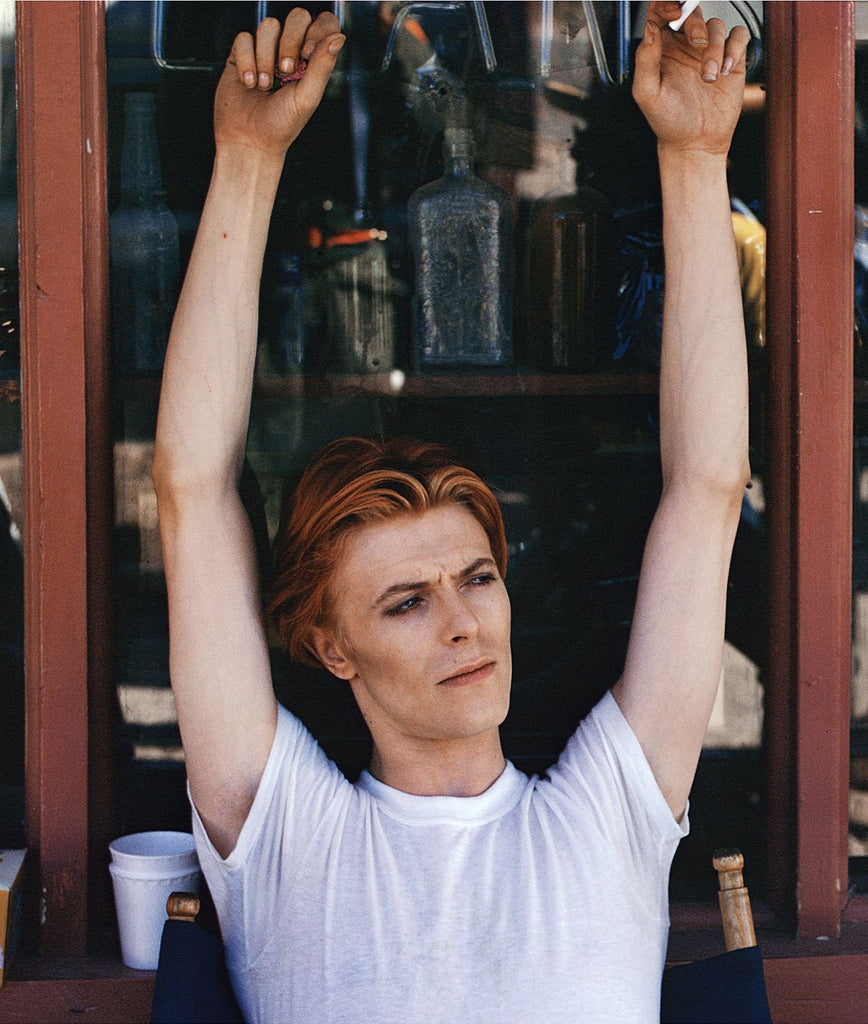 David Bowie: Fenton Lake, New Mexico, 1975 by Geoff MacCormack