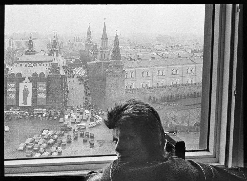 David Bowie: May Day Parade, Moscow, 1973 by Geoff MacCormack