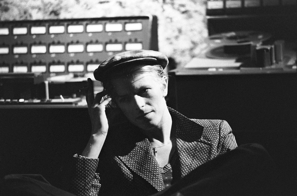 David Bowie: Cherokee Studios, Hollywood, USA, 1975 by Geoff MacCormack