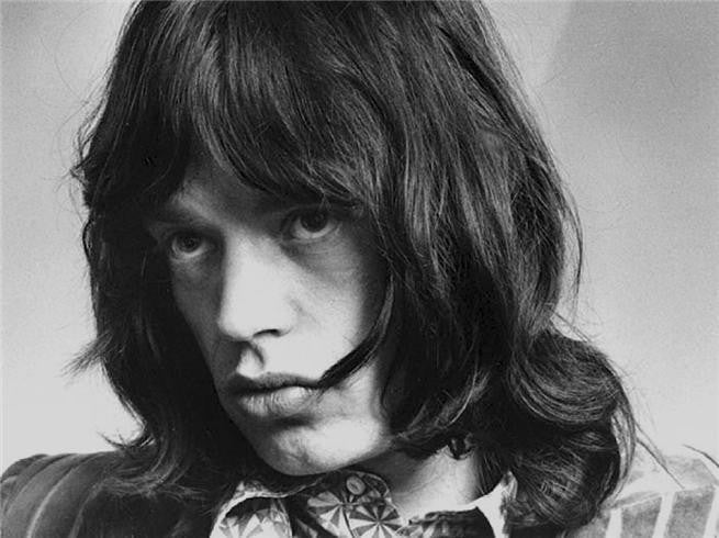 Mick Jagger, 1968 by Barrie Wentzell