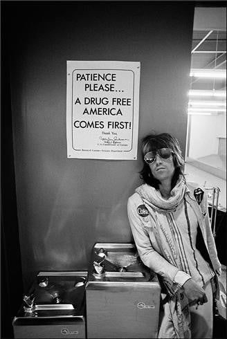 Keith Richards, Patience Please 1972 by Ethan Russell