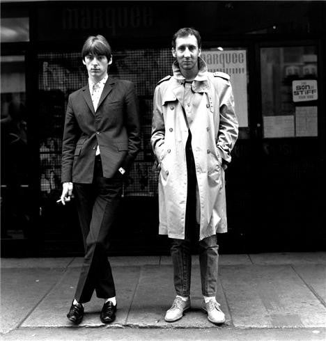 Paul Weller & Pete Townshend, London, England 1980 by Janette Beckman