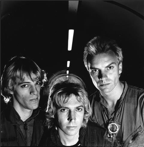The Police, Waterloo, London, 1978 by Janette Beckman
