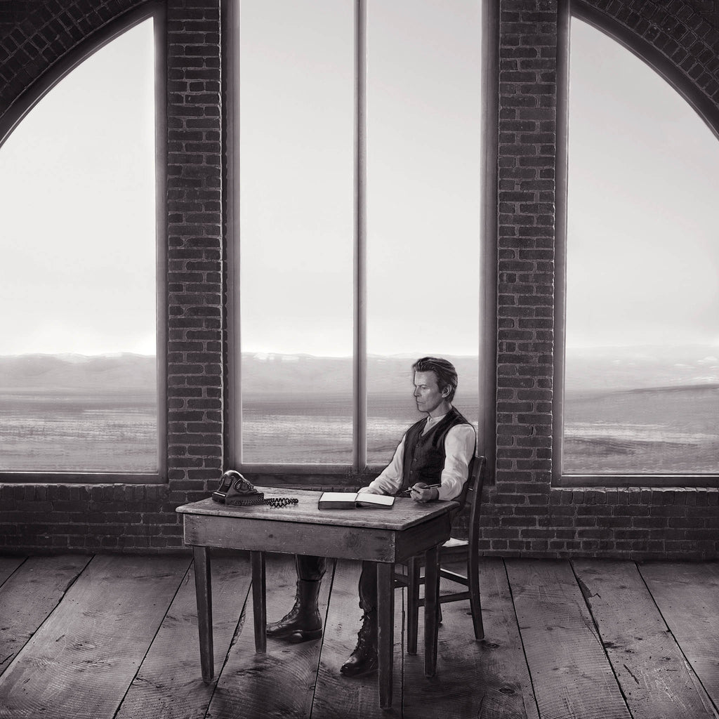 David Bowie, Room, 2001 by Markus Klinko