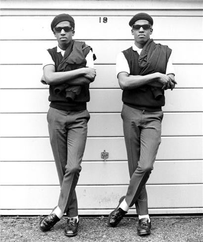 Rude Boys, Chuka & Dubem, London 1981 by Janette Beckman