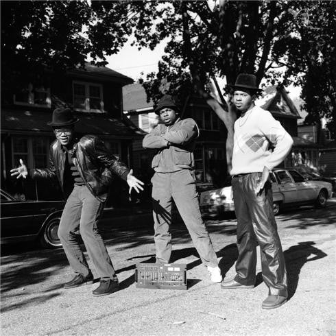 Run DMC, Hollis Queens, New York 1984 by Janette Beckman