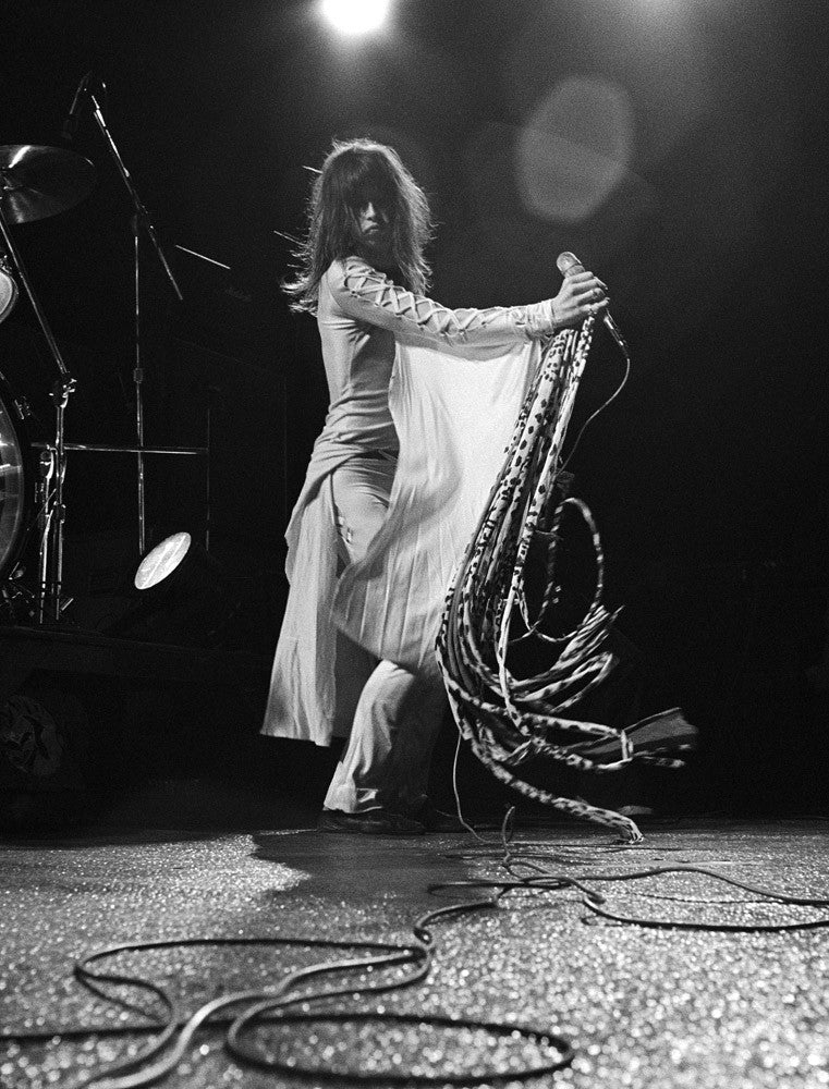 Steven Tyler, Aerosmith, CA 1975 by Mark Sullivan