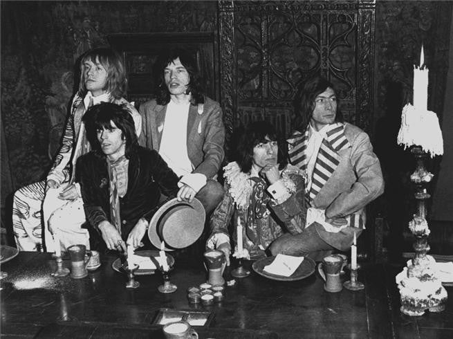 The Rolling Stones, Beggars Banquet 1968 by Barrie Wentzell